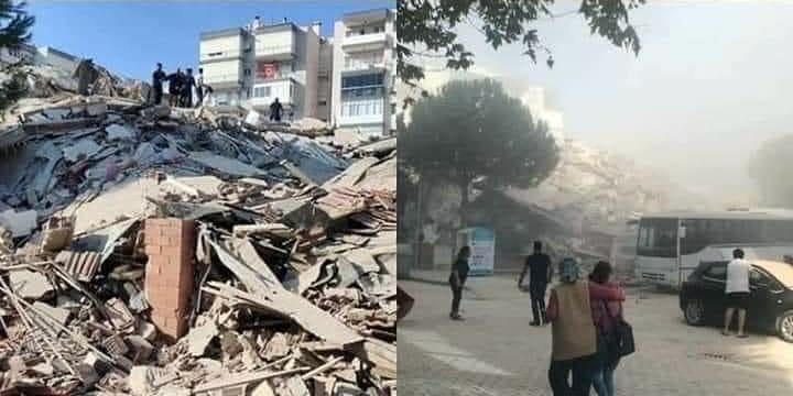 6.9'luk İzmir depremi