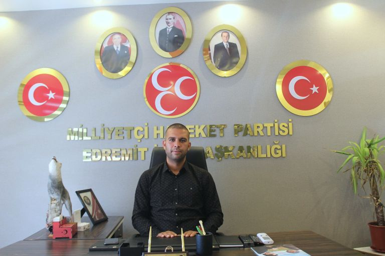 MHP ilçe başkanı Görmen'den kutlama mesajı