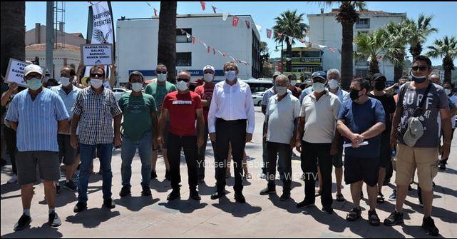 Ayvalık Balıkçıları ve Gezi Tekneleri, Barınaklarını Hak Ediyorlar
