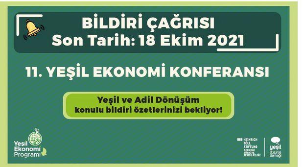 Yeşil Ekonomi Konferansı için Bildiri Çağrısı!